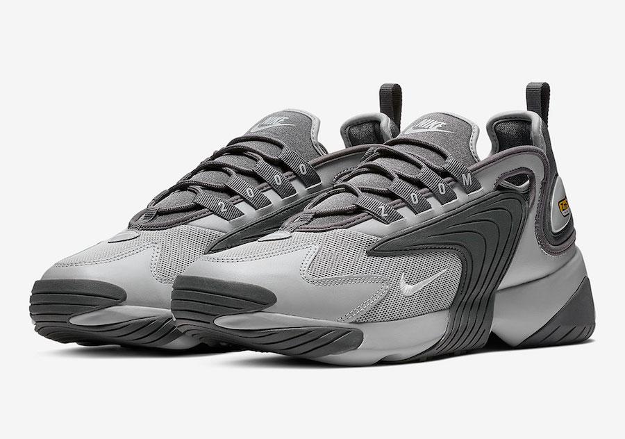 Nike Zoom 2K Wolf Grey White Dark Grey AO0269-001
