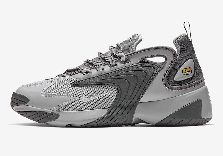 outlet store 99b47 3e12c Nike Zoom 2K Wolf Grey White Dark Grey AO0269-001