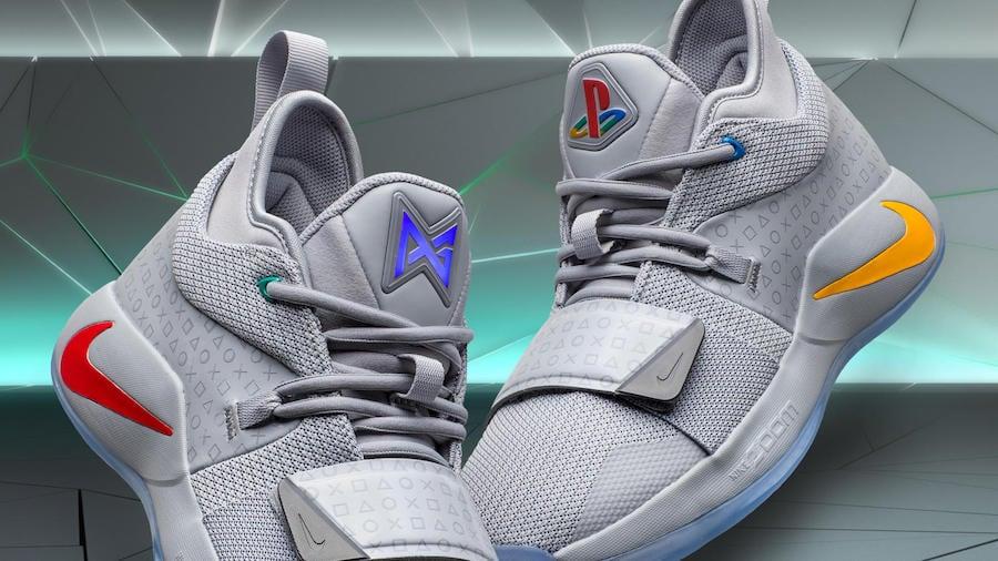 36a2ecd868b7 PlayStation Nike PG 2.5 Wolf Grey BQ8388-001 Release Date