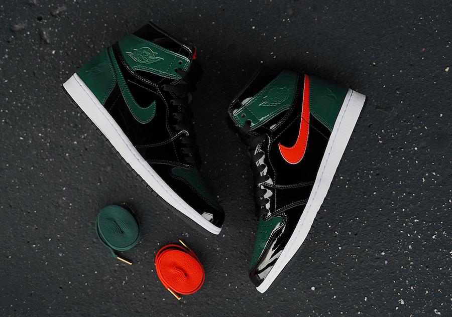 SoleFly Air Jordan 1 Patent Leather Miami Art Basel Release Date Price