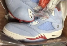 Trophy Room Air Jordan 5 JSP Ice Blue Release Info