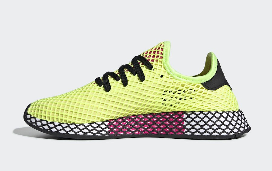 a3fae472a adidas Deerupt Runner Hi-Res Yellow CG5943 Release Date