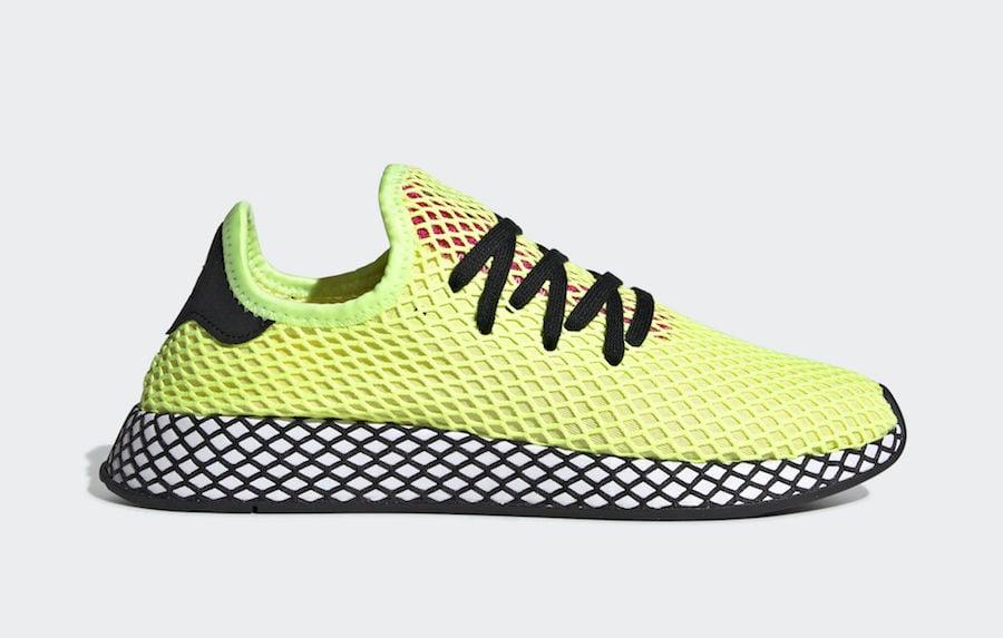 9c2f7ce92 adidas Deerupt Runner Hi-Res Yellow CG5943 Release Date