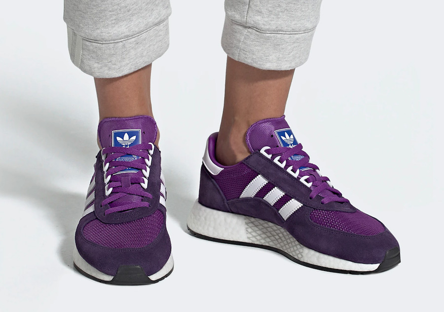 Adidas Date Release Marathon Tech Purple G27696 Tan G27695 vOmN8n0w