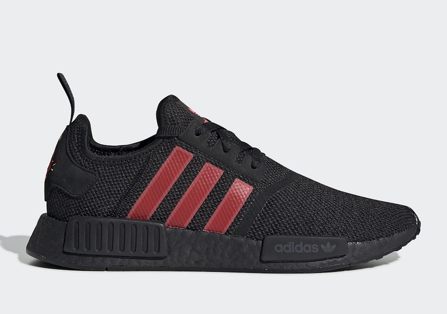 adidas NMD R1 Chinese New Year G27576 Black Red Yellow
