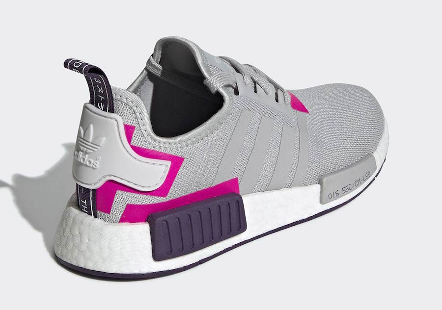 adidas NMD R1 Grey Pink BD8006 Release Date