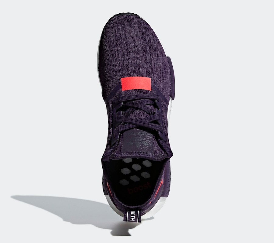 adidas NMD R1 Legend Purple Shock Red BD7752 Release Date