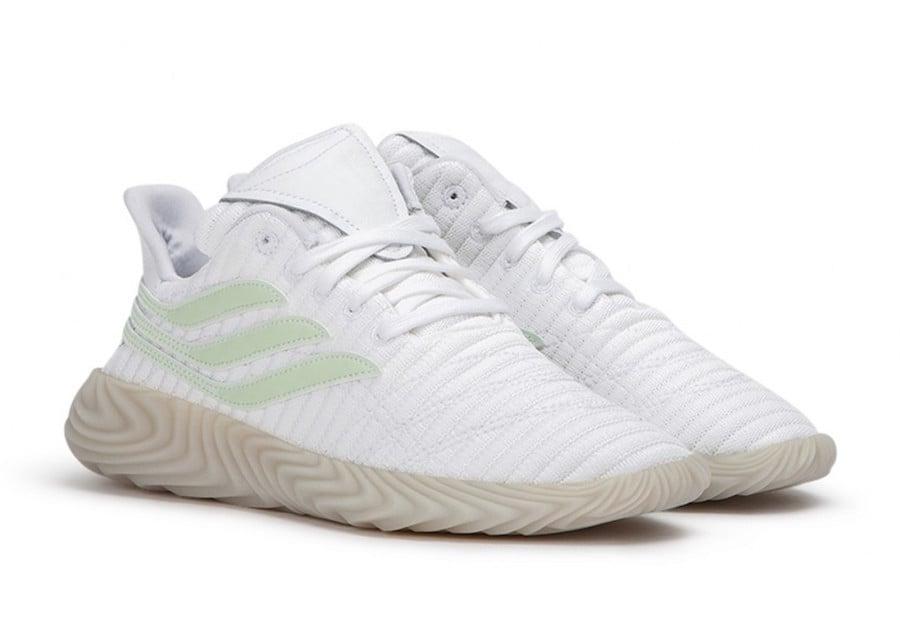 adidas Sobakov White Aero Green B41966