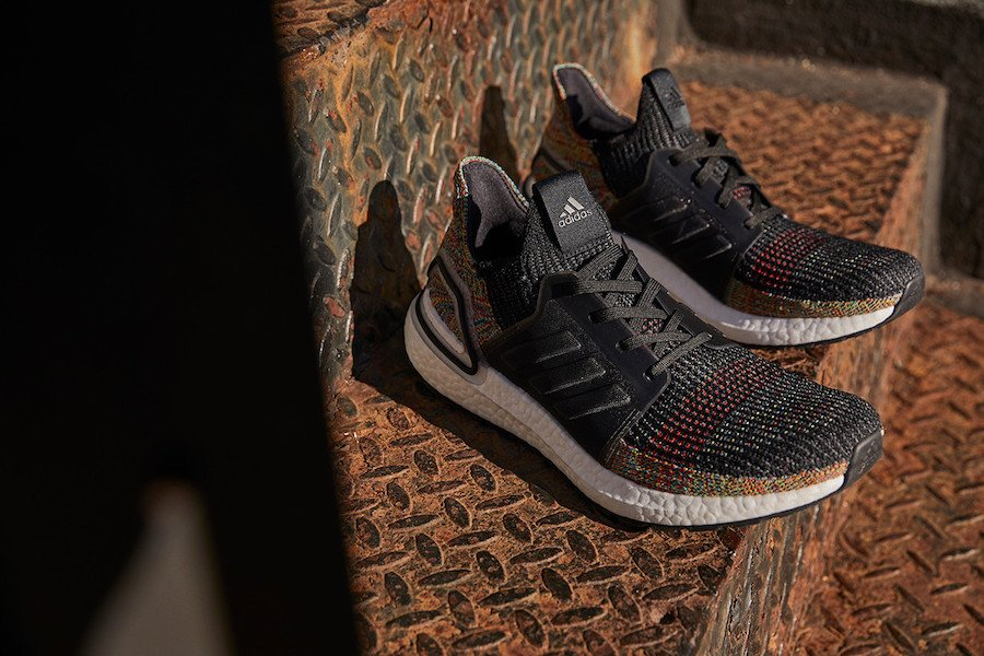 to buy official recognized brands adidas Ultra Boost 2019 Multicolor Dark Pixel B37706 Release ...