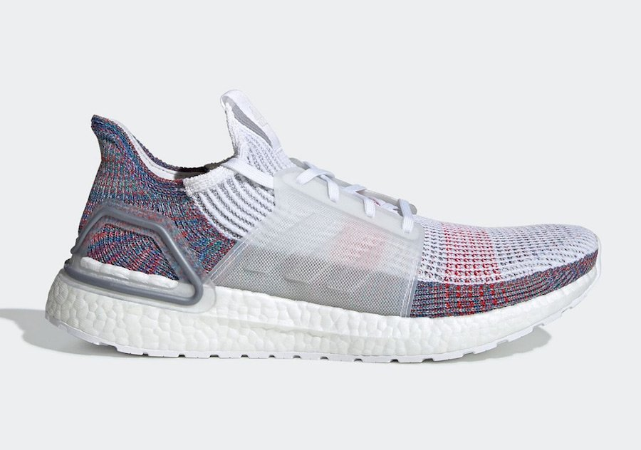 adidas Ultra Boost 2019 White Multicolor B37708 Release Date