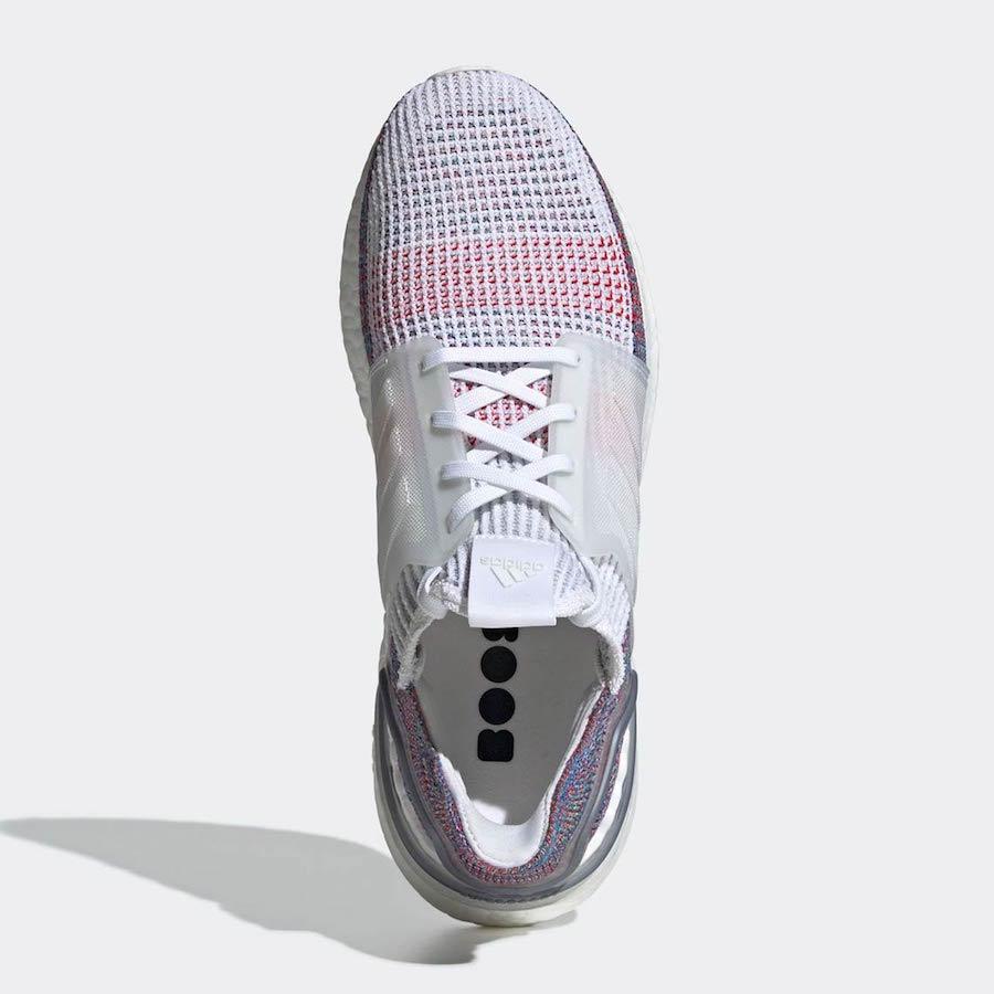 adidas Ultra Boost 2019 White Multicolor B37708 Release Date