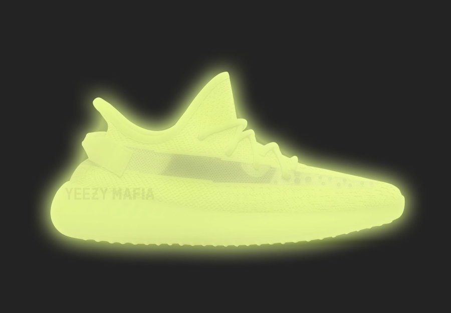 adidas Yeezy Boost 350 V2 GID Glow in the Dark Release Date