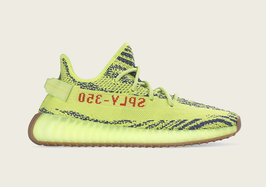 adidas Yeezy Boost 350 V2 Semi Frozen Yellow Restock 2018