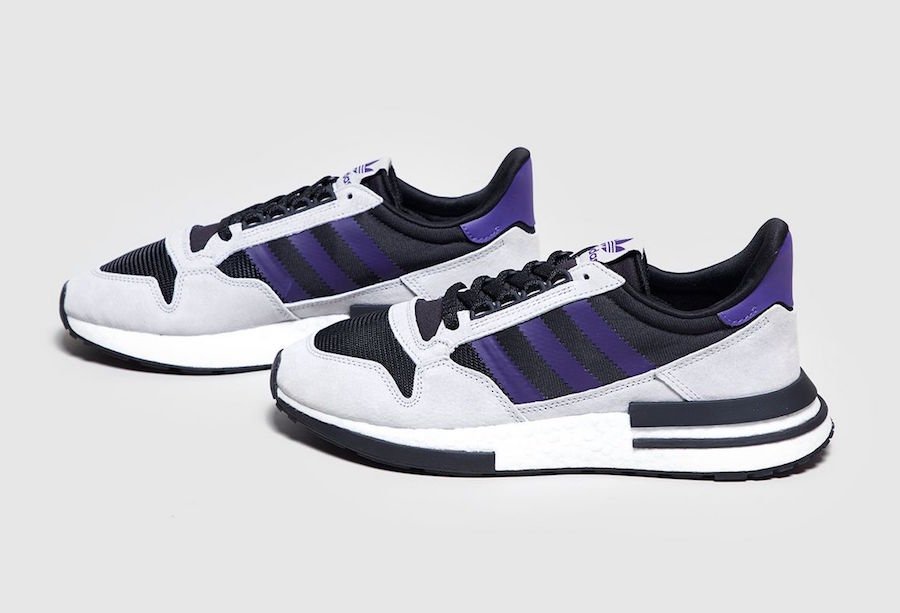 los angeles 685af 25cc2 adidas ZX 500 RM Black Purple Size? Exclusive | SneakerFiles