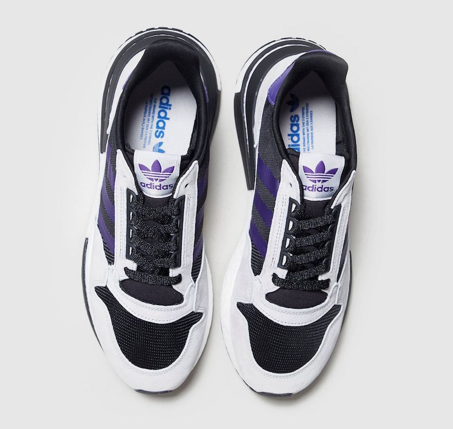 adidas ZX 500 RM Black Purple Size? Exclusive