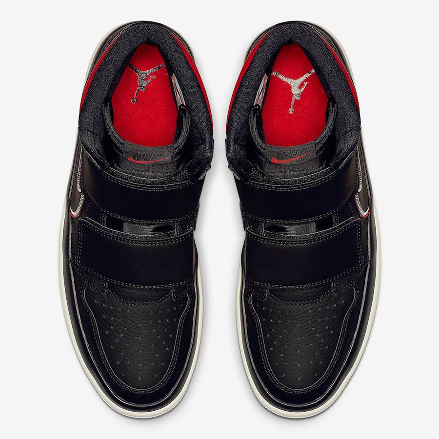 Air Jordan 1 High Double Strap Black Red AQ7924-016 Release Date