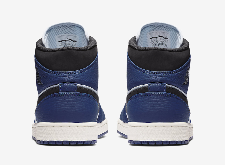 Air Jordan 1 Mid 852542-400 Blue 3a1595a45