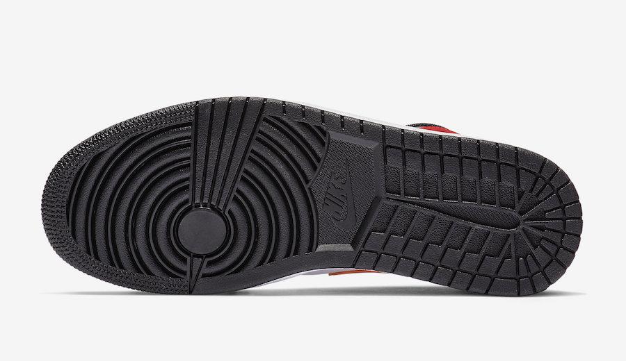 Air Jordan 1 Mid Bred Multi-Color 554724-125 Release Date