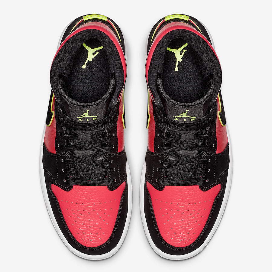 Air Jordan 1 Mid Hot Punch BQ6472-006 Release Date