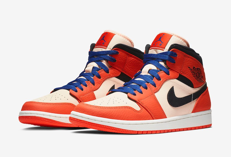 357efc4b5152 Air Jordan 1 Mid Team Orange 852542-800 Release Date