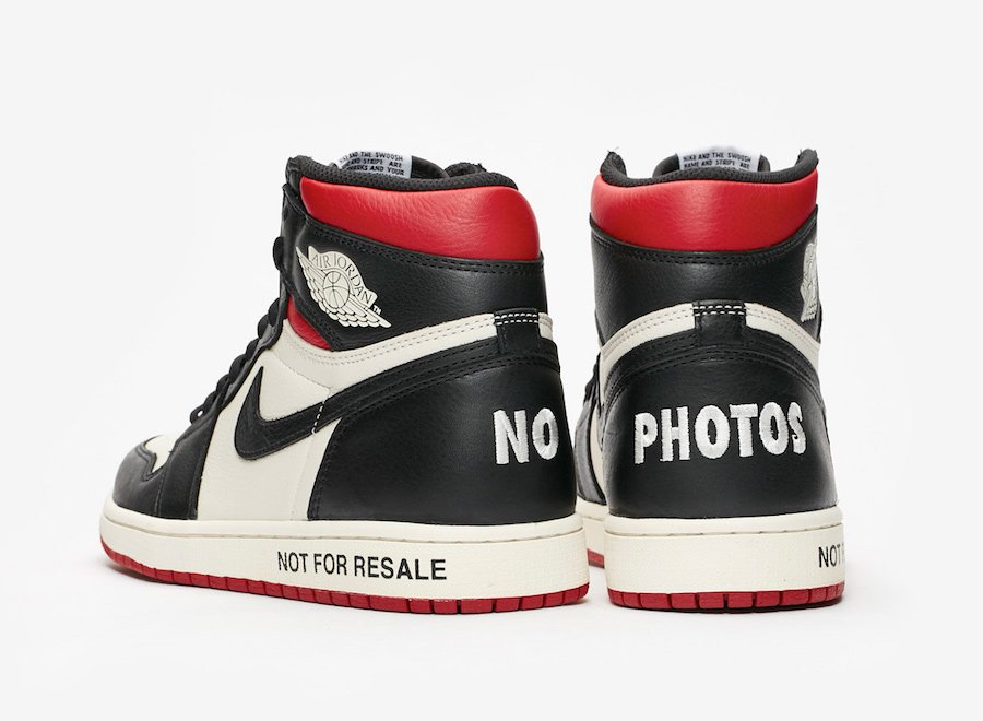 Air Jordan 1 Not For Resale Varsity Red 861428-106 Release Date