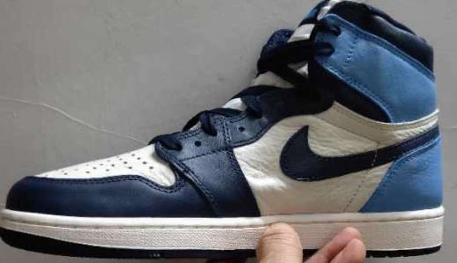 Air Jordan 1 Obsidian University Blue 555088-140 Release Date