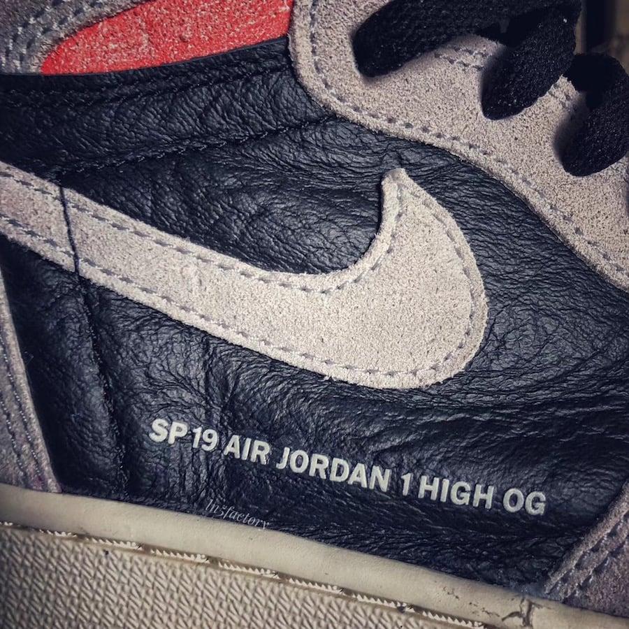Air Jordan 1 OG Neutral Grey Hyper Crimson 555088-018