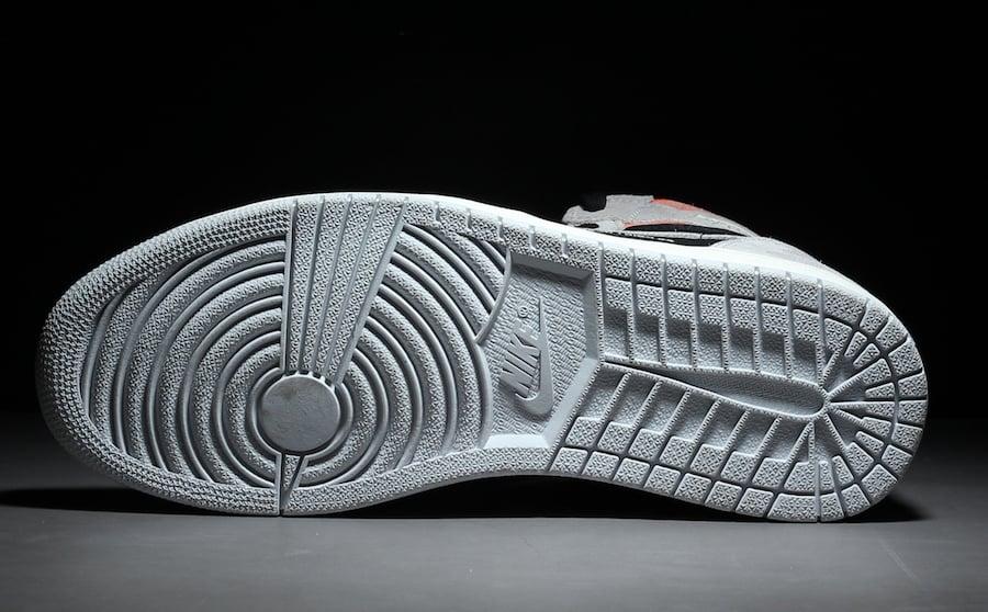 Air Jordan 1 OG Neutral Grey Hyper Crimson White Black 555088-018 Release Date