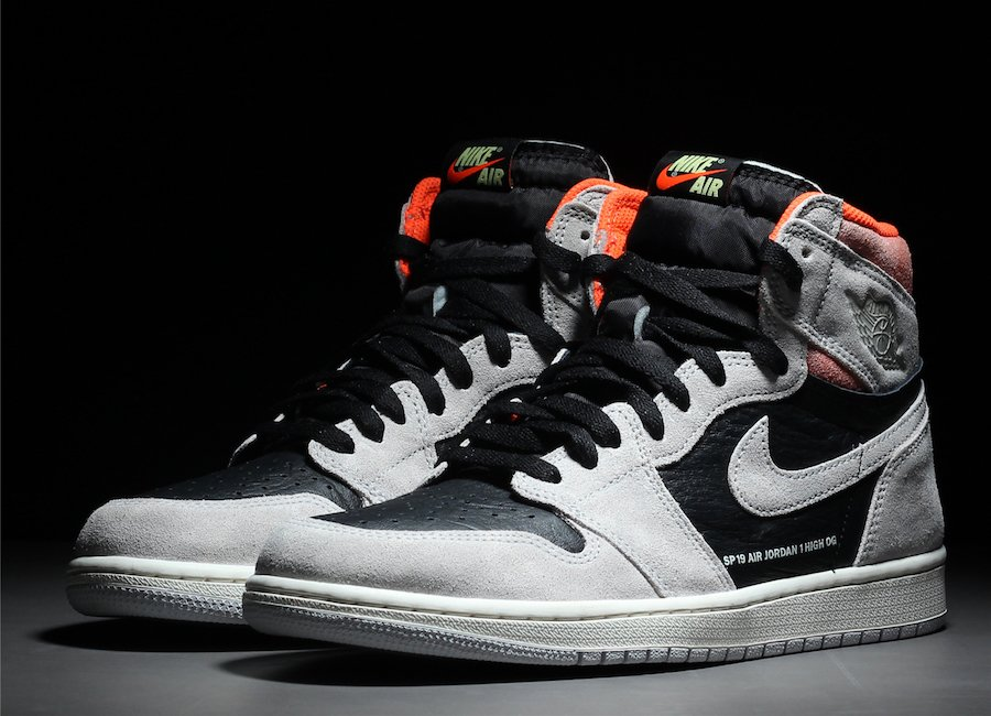 ba0417467cfb Air Jordan 1 OG Neutral Grey Hyper Crimson White Black 555088-018 Release  Date