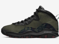 Air Jordan 10 Woodland Camo Medium Olive 310805-201 Release Date