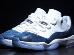 Air Jordan 11 Low Blue Navy Snakeskin 2019 CD6846-102