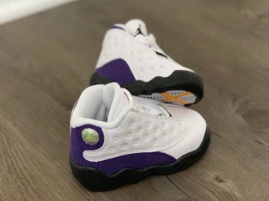 Air Jordan 13 Lakers Kids Release Info