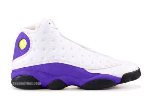 Air Jordan 13 Lakers Rivals 414571-105 Release Date