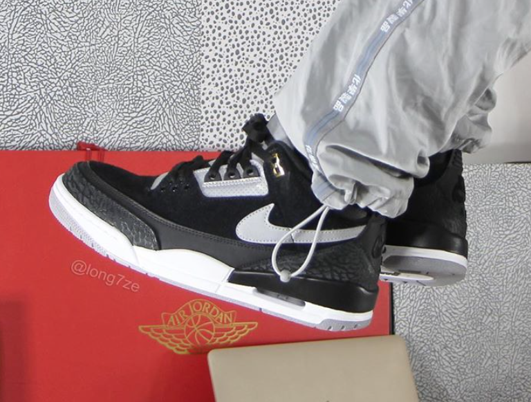 Air Jordan 3 Tinker Black Cement Grey CK4348-007 Release Details