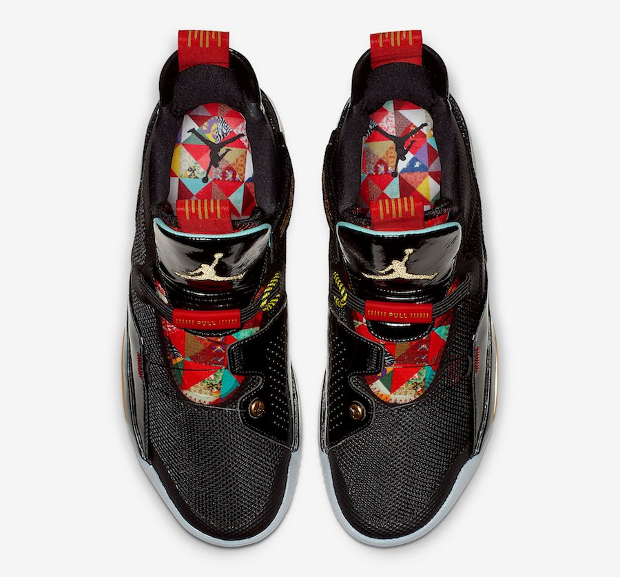 Air Jordan 33 CNY Chinese New Year AQ8830-007 Release Date