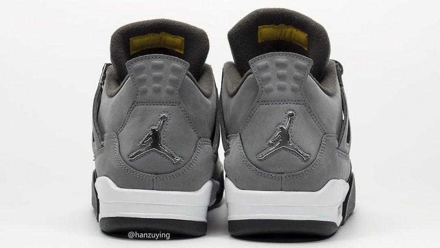 Air Jordan 4 Cool Grey 2019 308497-007 Release Info