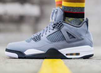 Air Jordan 4 Cool Grey 2019 On Foot