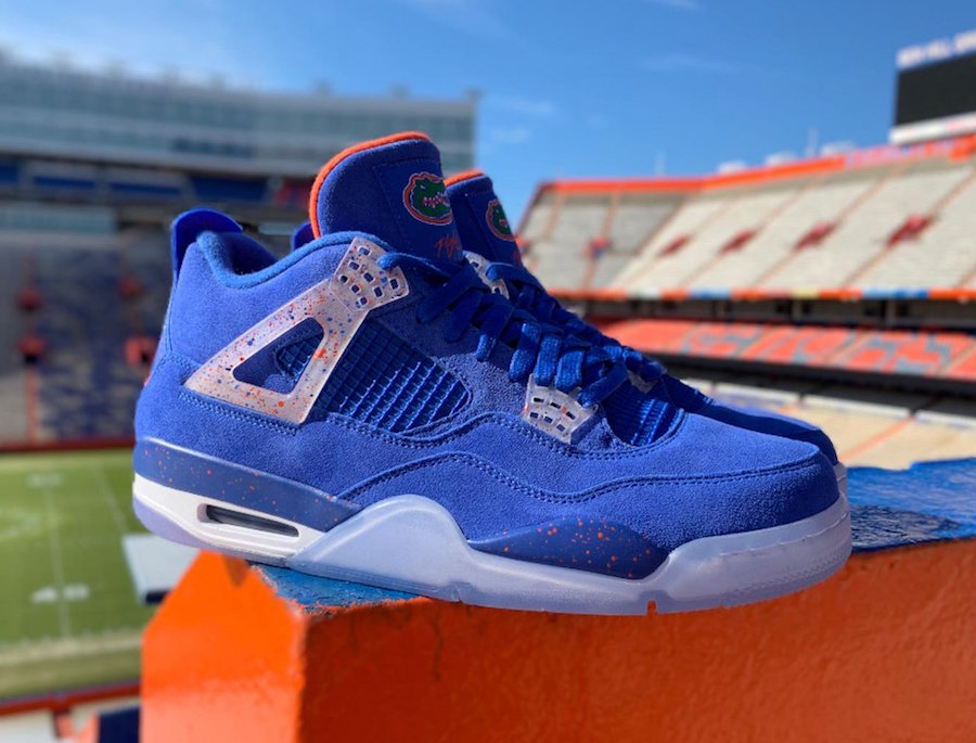 Air Jordan 4 Florida Gators PE