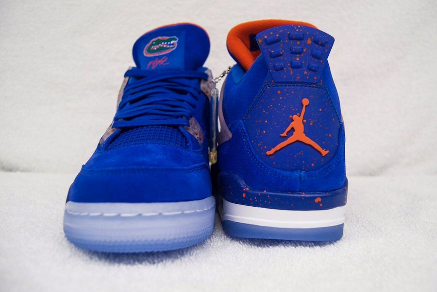 Air Jordan 4 Gators PE Peach Bowl