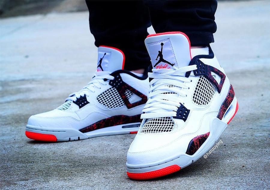 Air Jordan 4 Hot Lava 308497-116 Release Date