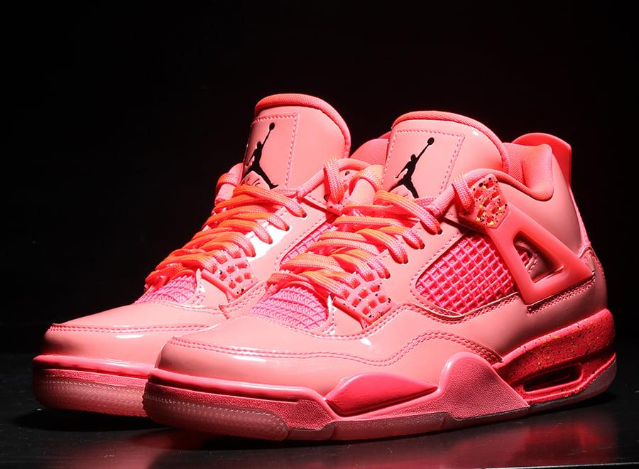 Air Jordan 4 NRG Hot Punch AQ9128-600 Womens Release Date