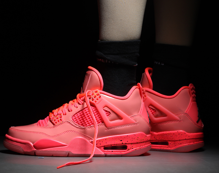 4cf402ac3be Air Jordan 4 NRG Hot Punch AQ9128-600 Release Date | SneakerFiles