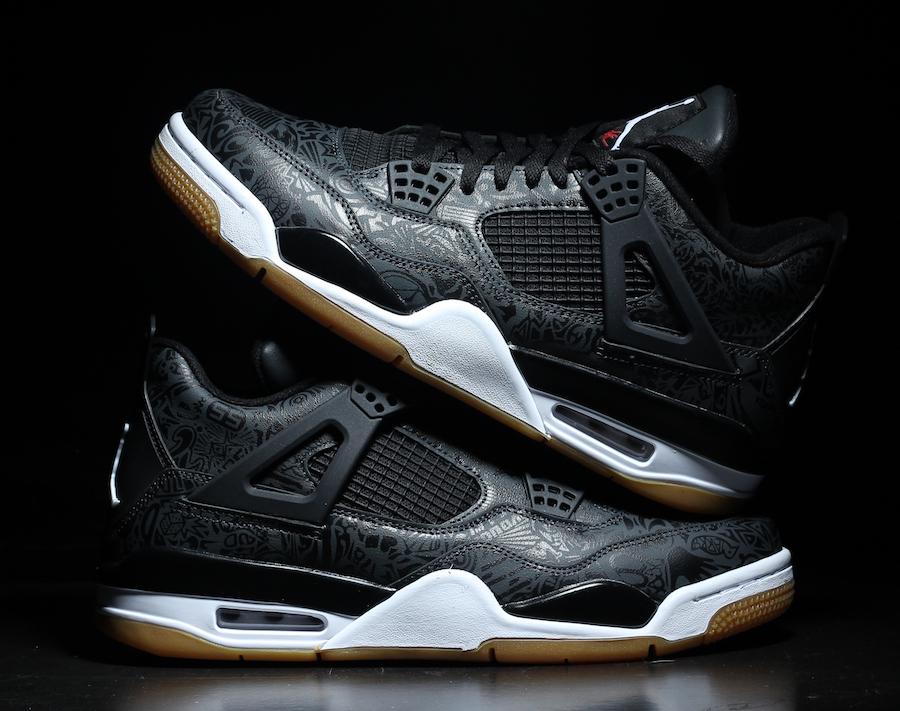 Air Jordan 4 SE Laser Black Gum CI1184-001 Release Date Price