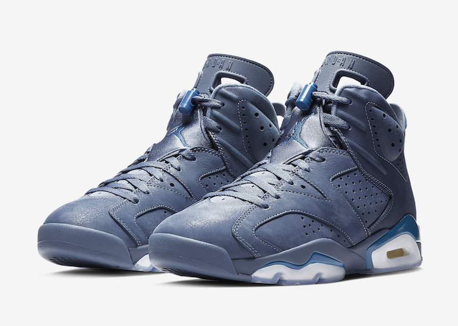 new product c4276 783ef Air Jordan 6 Diffused Blue 384664-400 Release Date