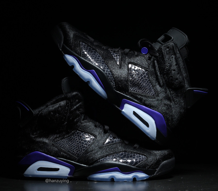 Air Jordan 6 Pony Hair Cow Fur Snakeskin AR2257-005 Release Date