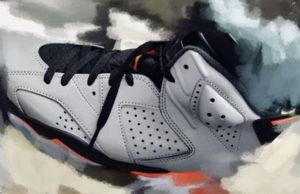 Air Jordan 6 PSG Iron Grey Infrared 23 Black Release Date