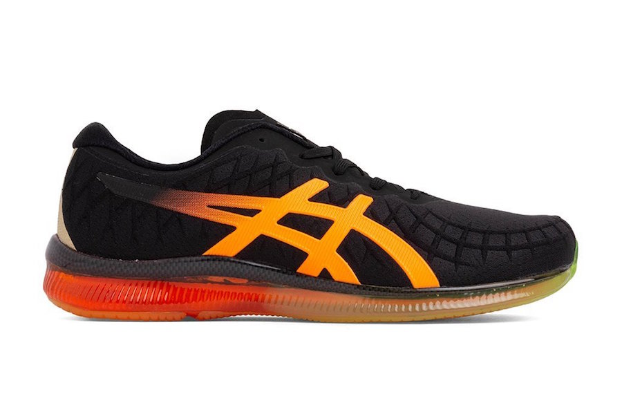 Asics Gel Quantum Black Orange