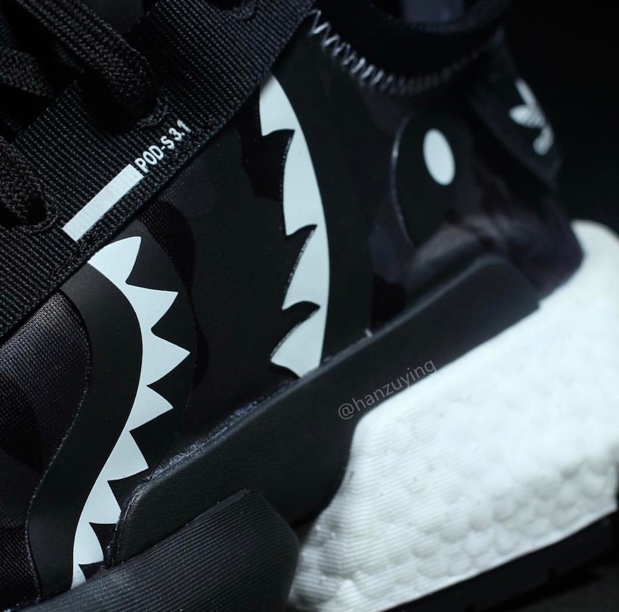 BAPE Neighborhood adidas POD EE9431 Release Date Info