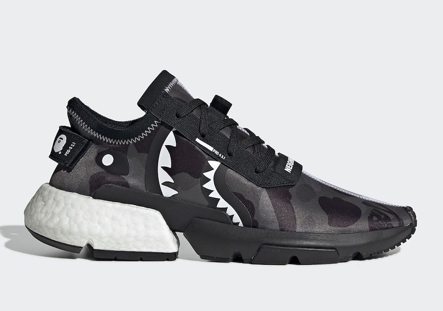 BAPE Neighborhood adidas POD S3.1 EE9431 Release Details