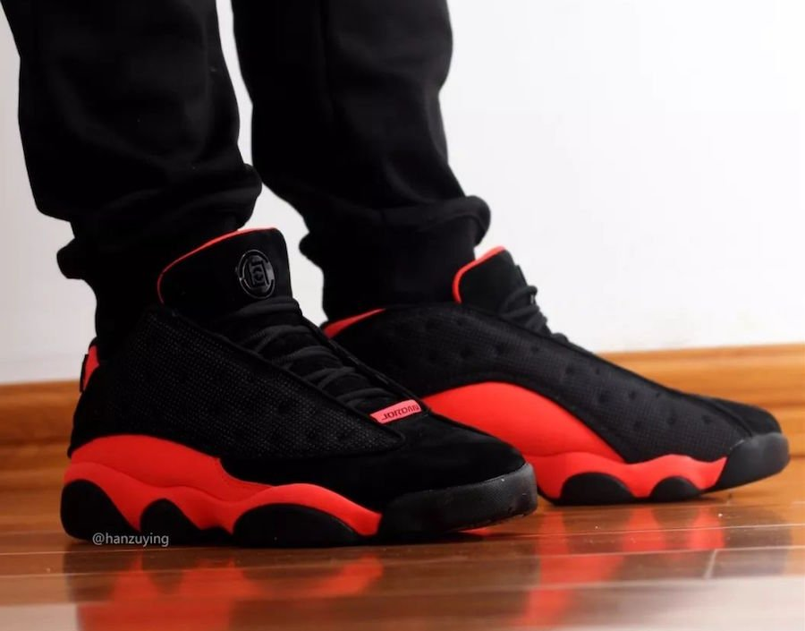 f0810fd58c9 Clot Air Jordan 13 Low Black Infrared AT3102-006 Release Date ...